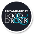 food and drink guide badge